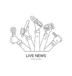 Live News Logo vector