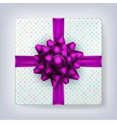 Square gift box eps 10 vector