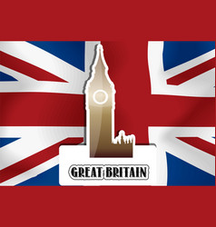 united kingdom great britain vector image