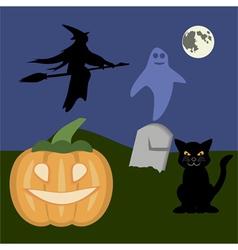 halloween2 vector image vector image