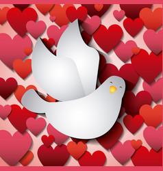 Catholic love design vector