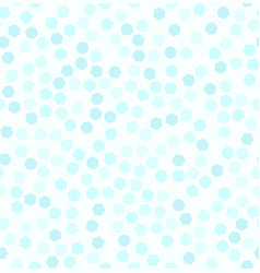 Cyan hexagon pattern seamless vector