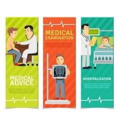 Medical Examination Banners vector image