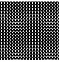 Monochrome repeating stylized pine tree pattern vector