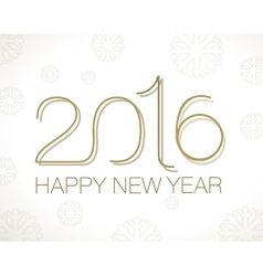 Original Happy New Year vector image