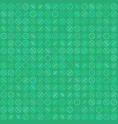 percent seamless business background pattern vector image