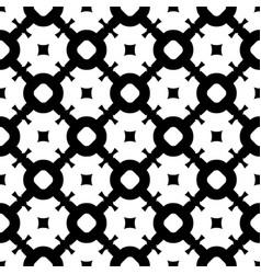 Seamless pattern monochrome lattice texture vector