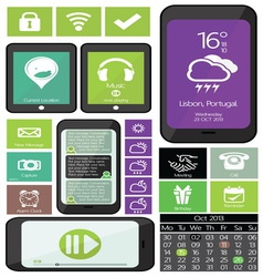 web mobilni aplikacije2 vector image