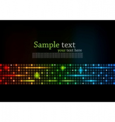 abstract colorful background with square vector image