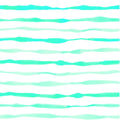 blue bright striped watercolor pattern vector image