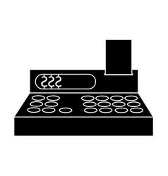 Cash register icon image vector