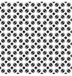 Monochrome seamless pattern ornate texture vector