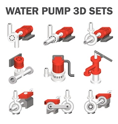 Water pump vector