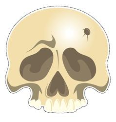 Mask Skull vector image