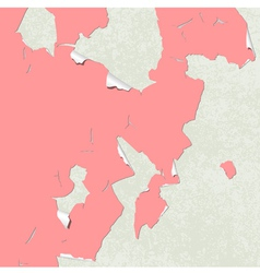 peeling paint vector image vector image
