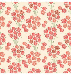 Abstract Elegance seamless floral pattern vector image
