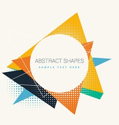 abstract frame design vector image