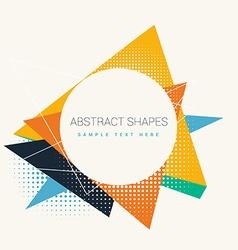 Abstract frame design vector