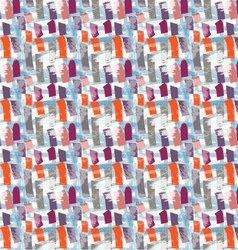 Abstract orange and purple marker vertical strokes vector