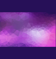 abstract polygon purple background of modern vector image