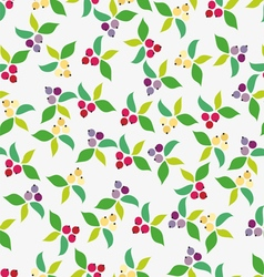 Background berry grey vector