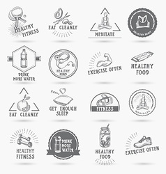 Healthy life icon design vector