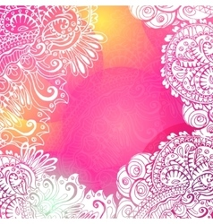 Pink Romantic background for meditation vector