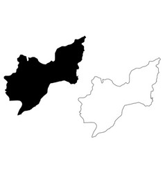 Tekirdag map vector