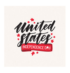 united states america independence day vector image