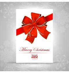 Merry Christmas RGB vector image