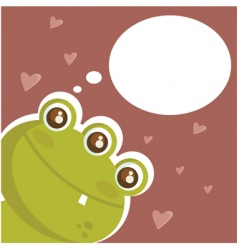 crazy love vector image vector image