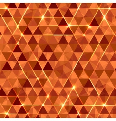 Abstract geometric background with glowing vector