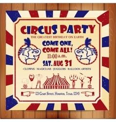 Circus sat vector