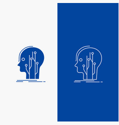 Data head human knowledge network line and glyph vector