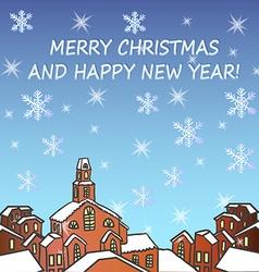 Merry Chrismas background vector