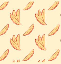 potato snack pattern 1 vector image