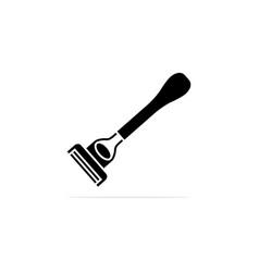 shaver icon concept for design vector image