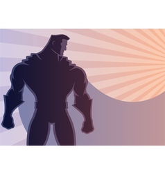 Superhero Background 2 vector