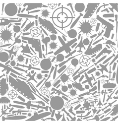 War a background vector image vector image