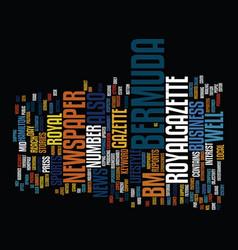 Bermuda recipes text background word cloud concept vector