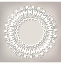 Delicate mandala vector