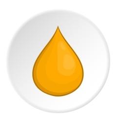 Honey drop icon cartoon style vector image vector image