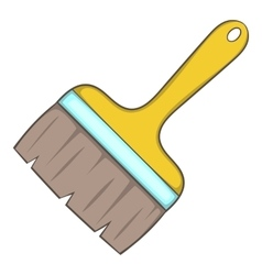 Paint brush icon cartoon style vector image