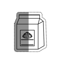 Baking powder bag vector image