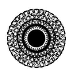 Black tribal tattoo 0017 vector