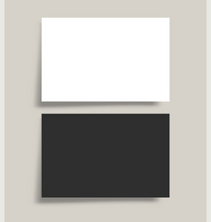 blank background template for business card vector image
