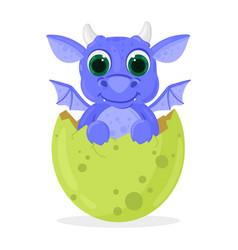 Cartoon fairy tale fantasy cute newborn baby vector