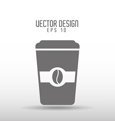 coffee time icon design vector image