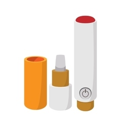 Electronic cigarette icon cartoon style vector image