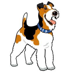 Fox terrier vector